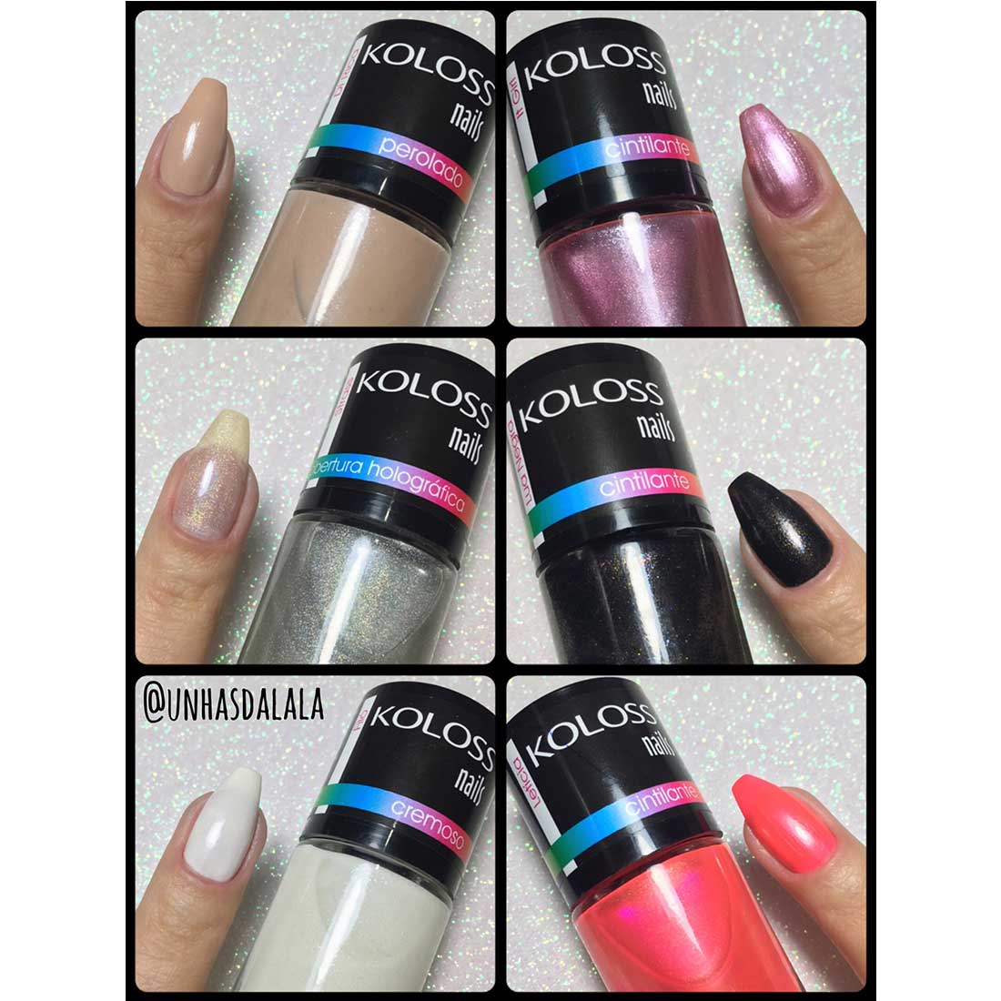 Press Kit Esmalte Koloss (Koloss Nails)
