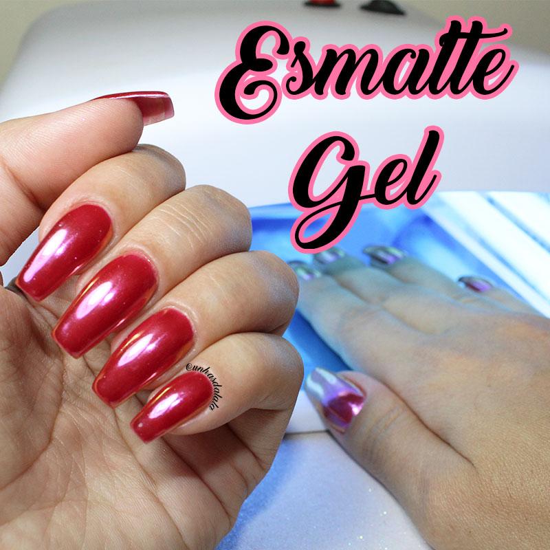 Unhas Espelhadas / Unhas Cromadas com Esmalte Gel da Born Pretty Store