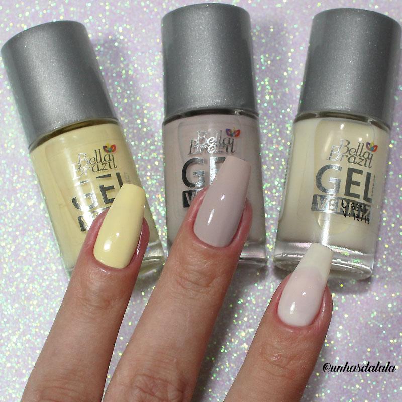 Esmalte Bella Brazil - Coleção Gel Verniz Effect