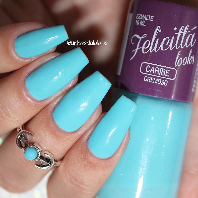 review esmalte felicittá looks caribe