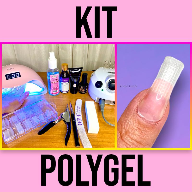 kit de polygel, unhas de polygel, o que comprar para unha de polygel, alongamento com polygel, unhas de gel, unhas alongadas com polygel, molde f1, molde f1 polygel, como usar o molde f1, como usar molde f1 polygel, polygel helen color, polygel hêlen color pink, polygel pink, como fazer unhas de polygel em casa, unhas de polygel em casa, fazendo alongamento de unhas em casa, como fazer alongamento de unhas em casa, molde f1 de unha, como usar lixa eletrica, cabine de led unhas, larissa leite, unhas da lala